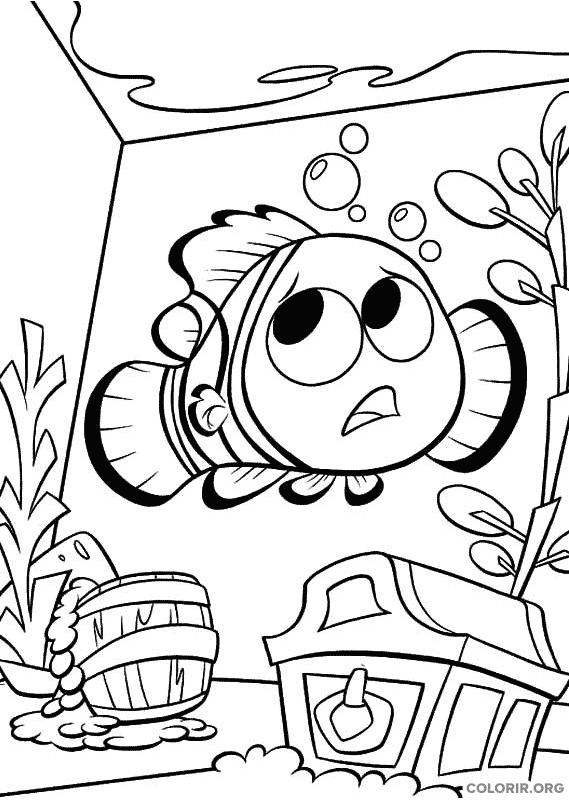Desenho de Procurando Nemo (9)