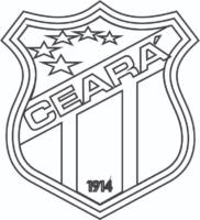 Símbolo do Ceará para colorir