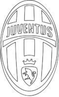 Símbolo do Juventus para colorir