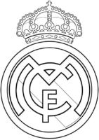 Símbolo do Real Madrid para colorir