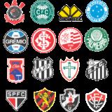 Símbolos de times de futebol para colorir